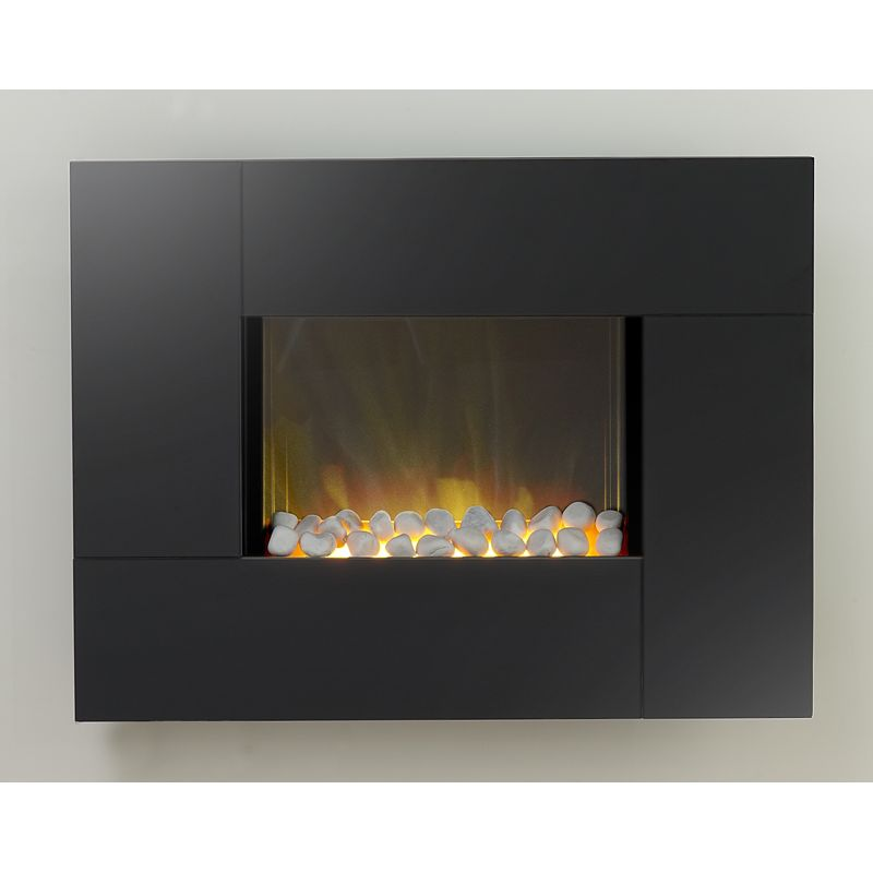 wall hung electric fire find it for less. Black Bedroom Furniture Sets. Home Design Ideas