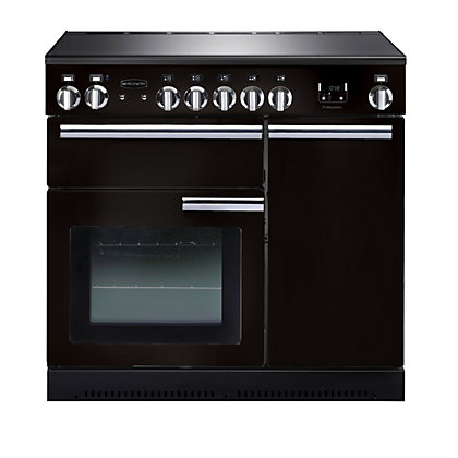 Image for Rangemaster Professional Plus 90cm Induction Range Cooker - Black from StoreName