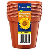 Flower Pot Multi-Pack - 3in - Pack of 10