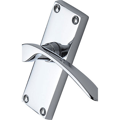 Image for Door Handle Interior Pack - Polished Chrome - 112 x 41mm from StoreName