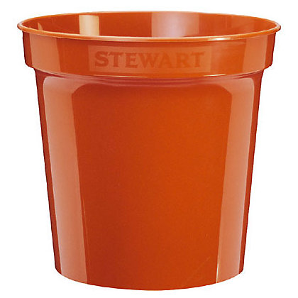 Image for Flower Pot  in Orange - 17.8cm from StoreName