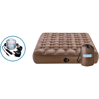Image for AeroBed Active Double Camping Air Bed. from StoreName