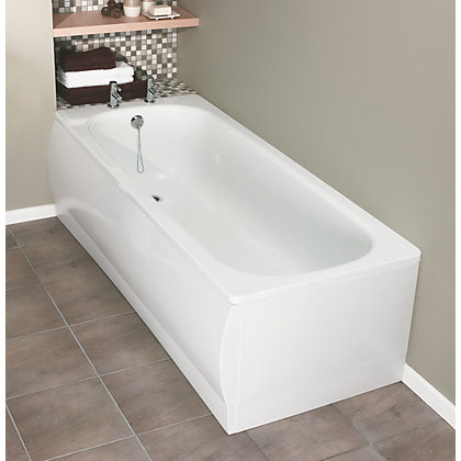 Image for Standard Steel Bath Acrylic End Panel from StoreName
