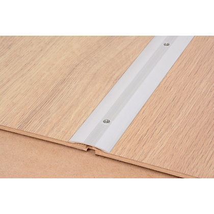 Image for Vitrex Smooth Floor Cover Strip Silver 0.9m (L) from StoreName