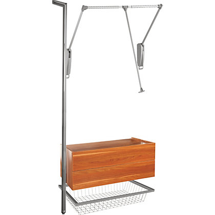 Image for Relax Bundle - Hanger Bar, Basket and Drawer - Walnut from StoreName