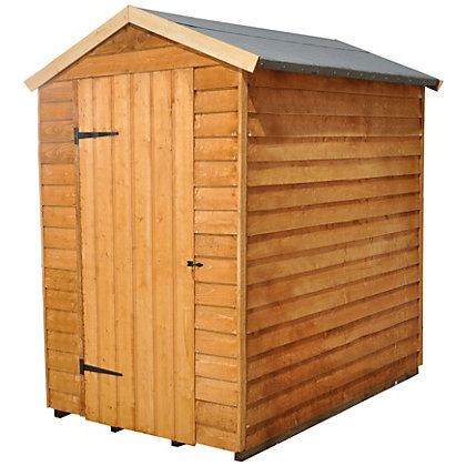 Image for Overlap Shed - 6ft x 4ft from StoreName
