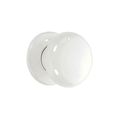 Image for Mortice Ceramic Door Knob - White - 3 Pairs from StoreName