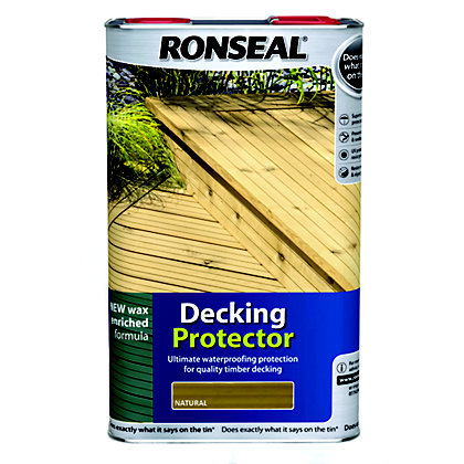 Image for Ronseal Decking Protector - Natural - 5L from StoreName