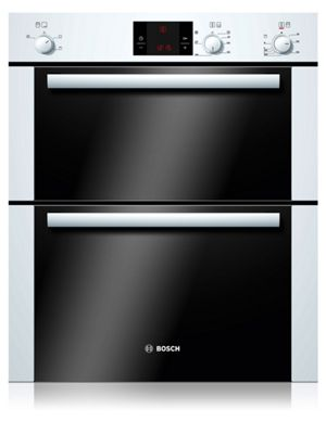 Image of Bosch HBN13B221B Double Ovens - White.