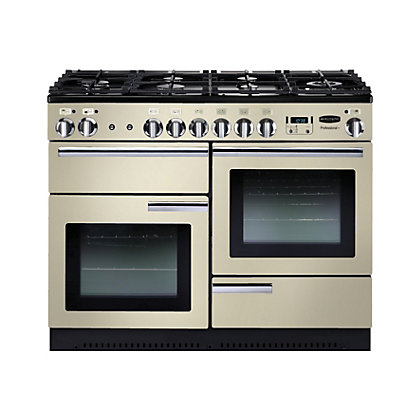 Image for Rangemaster Professional Plus 110cm Dual Fuel Range Cooker - Cream from StoreName