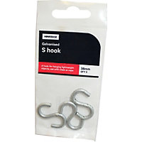 S Hook Glv - 38mm - 3Pack
