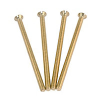 GET Screws - Brass - 3.5mm x 60mm