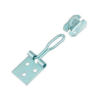 Image for Wire Hasp & Staple Zinc Plated - 102mm from StoreName