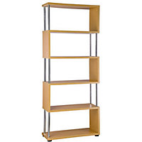 Geneva Shelf Unit - Mid Oak