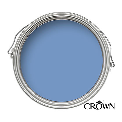 Image for Crown Kitchen and Bathroom Breatheasy Periwinkle - Mid-sheen Paint - 40ml Tester from StoreName
