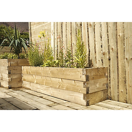 Image for Caledonian Raised Bed - 180 x 45cm from StoreName