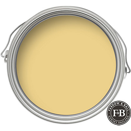 Image for Farrow & Ball Estate No.51 Sudbury Yellow - Eggshell Paint - 750ml from StoreName
