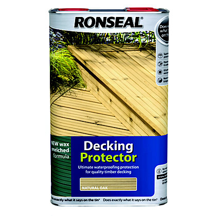Image for Ronseal Decking Protector - Natural Oak 5L from StoreName