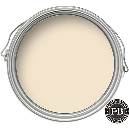 Image for Farrow & Ball Estate No.59 New White - Matt Emulsion Paint - 2.5L from StoreName