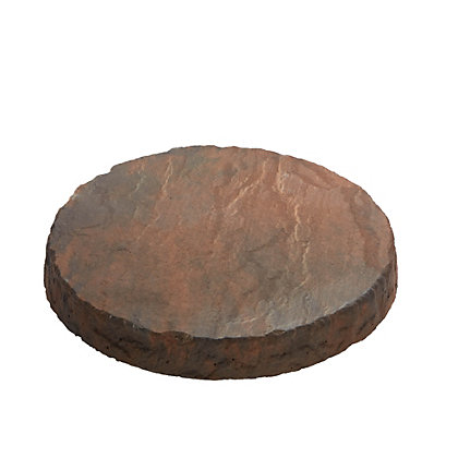 Image for Brett Walton Rustic 300mm Stepping Stone - Copper Glow from StoreName