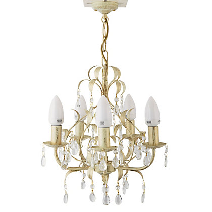 Image for Gemini Gold Chandelier from StoreName