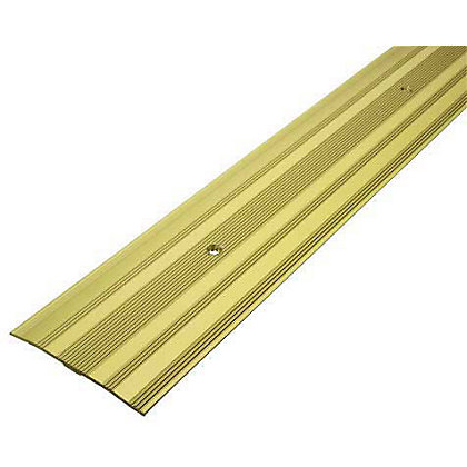 Image for Vitrex Extra Wide Cover Strip  Gold 1.8m (L) from StoreName