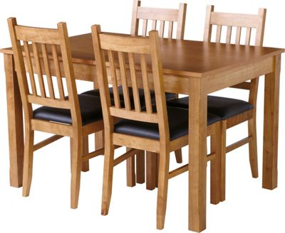 Hygena Cucina Extending Dining Table And 4 Chairs