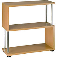 Oak Geneva 3 Shelf Unit
