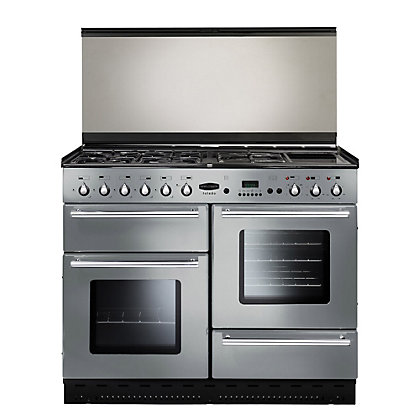 Image for Rangemaster Toledo 73860110 Natural Gas Cooker - Silver from StoreName