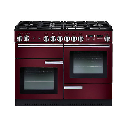Image for Rangemaster Professional Plus 110cm Dual Fuel Range Cooker - Purple from StoreName