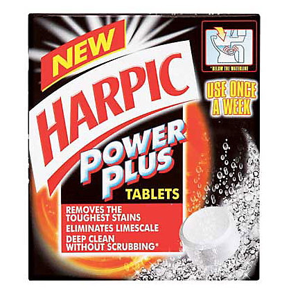 Image for Harpic Powerplus Tablets - 8 Pack from StoreName