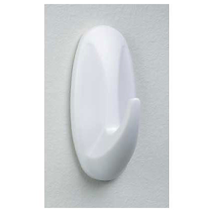 Image for 3M Command Self-adhesive Oval Hooks - Medium - 2 Pack from StoreName