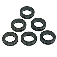GET Open Grommet - 20mm - 6 Pack