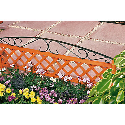 Image for Decorative Border Fence - 1m from StoreName