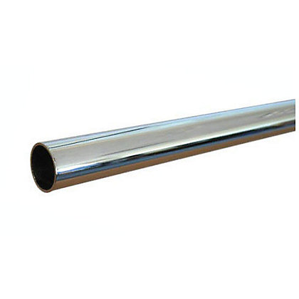 Image for Copper Tube -  Chrome Plated - 15mm x 2m from StoreName