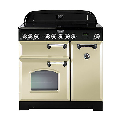 Image for Rangemaster Classic Deluxe 81640 90cm Electric Ceramic Cooker - Cream from StoreName