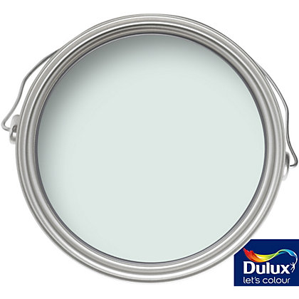 Image for Dulux Jade White - Silk Emulsion Paint - 5L from StoreName