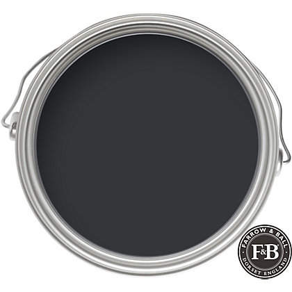 Image for Farrow & Ball Estate No.57 Off-Black - Eggshell Paint - 750ml from StoreName