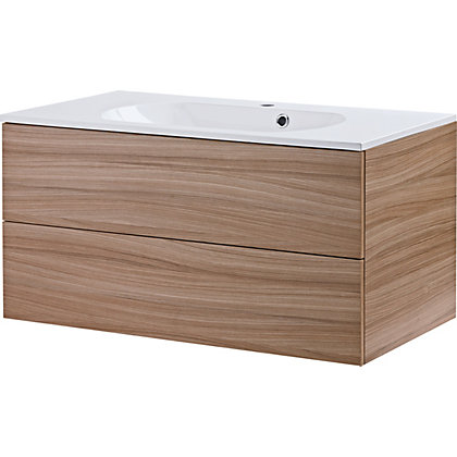 Image for Modular 900 2 Drawer Unit with Basin - Varese from StoreName