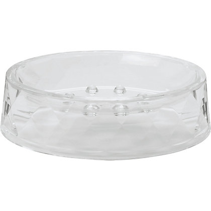Image for Diamond Cut Shape Soap Dish from StoreName