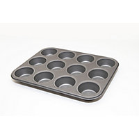 Non Stick Deep Muffin Tray