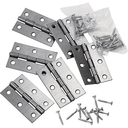Image for Steel Interior B Hinge - 75mm - 6 Pack from StoreName