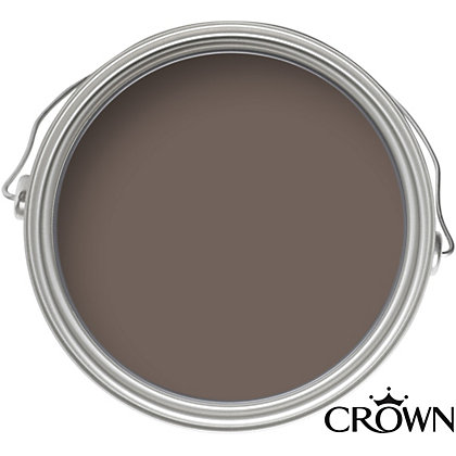 Image for Crown Breatheasy Solo Coffee Shop - One Coat Matt Emulsion Paint - 40ml Tester from StoreName