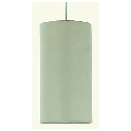 Image for Faux Suede Shade - Cream - 13cm from StoreName
