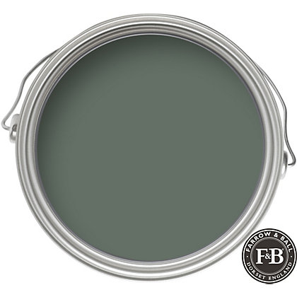 Image for Farrow & Ball Eco No.47 Green Smoke - Exterior Eggshell Paint - 2.5L from StoreName
