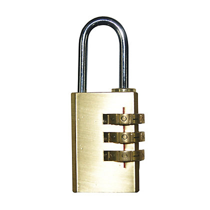 Image for Combination Padlock - 30mm from StoreName