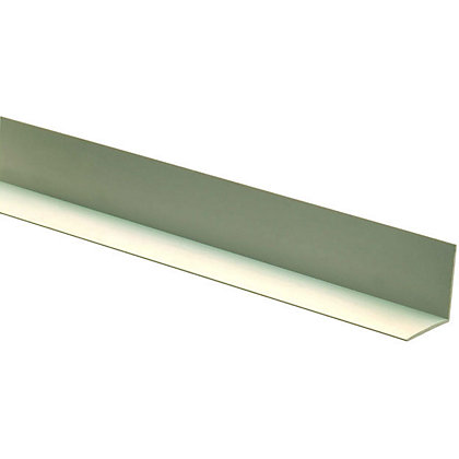 Image for Richard Burbidge Angle Moulding - Plastic - 2400 x 12 x 12mm from StoreName