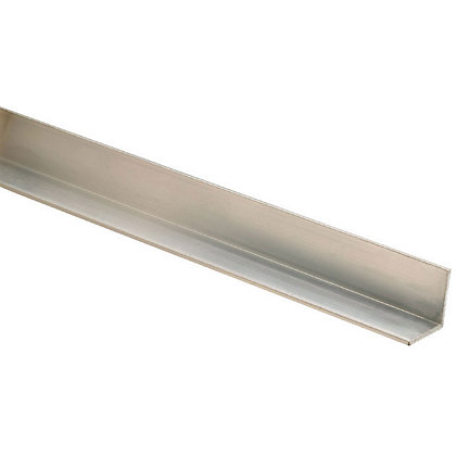 Image for Richard Burbidge Angle Moulding - Aluminium - 2400 x 25 x 25mm from StoreName