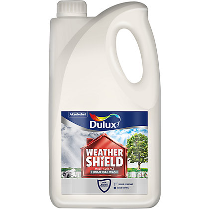 Image for Dulux Weathershield Multi-Surface - Clear Fungicidal Wash - 2.5L from StoreName