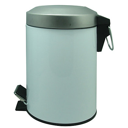 Image for 3L Flat Arch Bin- White from StoreName